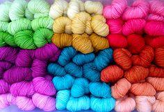 Ravelry: Magpie Fibers Swish Worsted Such beautiful yarns ingnite creativity
