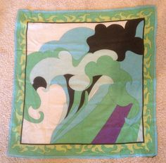 AUTHENTIC Vintage EMILIO PUCCI  Scarf by CandyHeartGirl on Etsy, $45.00