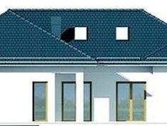 DOM.PL™ - Projekt domu DPS Madera 4 CE - DOM DPS1-34 - gotowy koszt budowy Dom, Wood
