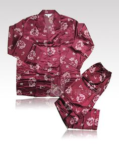 MEN'S SILK PAJAMAS | chinese embroidery tutorial