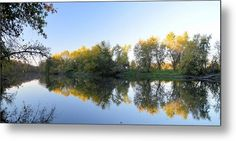 Waters Edge Metal Print by Bonfire #Photography