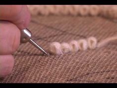 Rug hooking tutorial