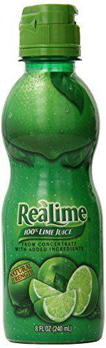 ReaLime, 100% Lime Juice, 8 Fl Oz Realime http://www.amazon.com/dp/B000RA6L42/ref=cm_sw_r_pi_dp_77aBvb1PGA1CP