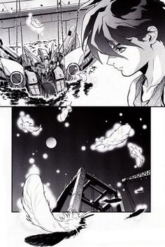 Love the illustrations from the new 'Gundam Wing: Endless Waltz: The Glory of Losers' (新機動戦記ガンダムW ENDLESS WALTZ: 敗者たちの栄光)