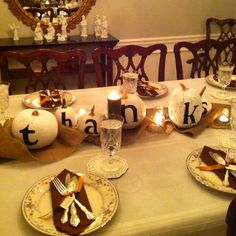 @Pamela Snow our Thanksgiving table!