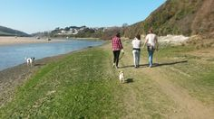The Gannel, Newquay, Cornwall Newquay Cornwall, Seaside Towns, Sandy Beaches, Golf Courses