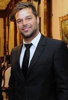 Ricky Martin en la Casa Rosada en Argentina.