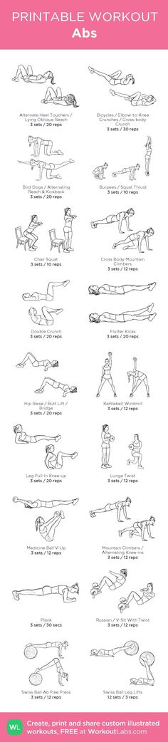 Abs –my custom workout created at WorkoutLabs.com...
