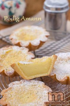 Spécialité pontécrucienne, un petit gâteau à base de pâte sablée et d'une garniture proche du flan (Finistère Sud)