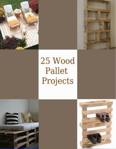 Wood Pallet Furniture on Pallet Furniture Book 25 Pallet Furniture Projects