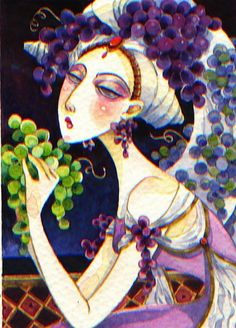 mrs. bacchus by artmeister on Etsy By David Galchutt