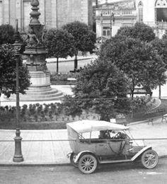 As histórias dos monumentos do Rio de Janeiro: Relógio do Largo da Carioca em 1910