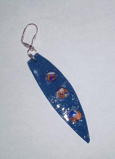 """Ohrringe """"Hawaiian"""" – Unikate Schmuck Drop Earrings, Personalized Items, Jewelry, Fashion, Earrings, Stud Earrings, Fashion Styles, Ear Jewelry, Ear Piercings"""