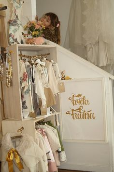 Frida and Fauna. Love that wardrobe idea!!
