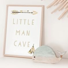 Neutral Nursery Print Nursery Wall Art Little Man Cave | Etsy Boho Nursery, Nursery Neutral, Nursery Prints, Nursery Wall Art, Wall Art Prints, Personalised Family Print, Feather Wall Art, Babe Cave, Little Girl Rooms
