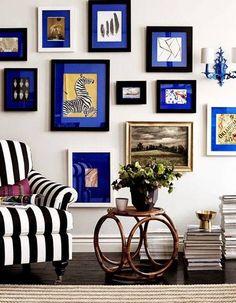 Décoration murale : 30 idées déco pour mettre en valeurs vos photos - Elle Décoration