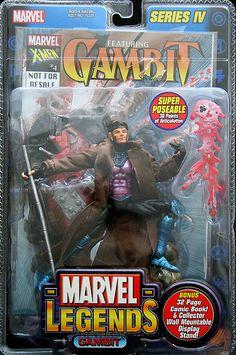 Marvel Legends Series 4 Gambit