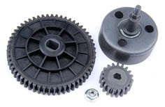 R/C racing car partsNEW- Clutch Bell and 55T/19T High Speed Metal Gear Set for 1/5th RC Gas Model Car/for baja