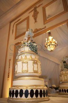 Nicole Richie Wedding  Cake cakepins.com