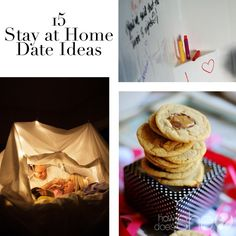 15 Stay at Home Date Ideas