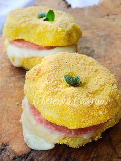 Burger di patate con Asiago e prosciutto vickyart arte in cucina