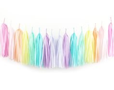 Pastel Rainbow Party Supplies!!!