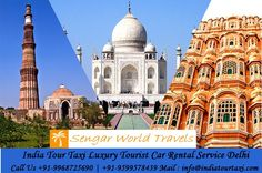 India Tour Taxi is one of the reputed car rental company based in Delhi, India for Luxury, Supercars & Vintage car Segment and we own our own fleet of Luxury, Executive SUVs, Toyota Innova and Muscle cars. It has been more than three decades we are serving our clients with the motto of client satisfaction and we work with the agenda of Customer First policy.