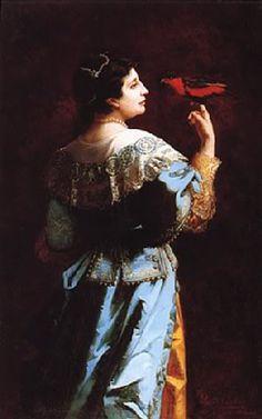Adelina Patti , by Léonie Ehrmann, 1879