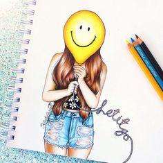 Kristina Webb Balloon Drawing