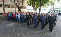 Policiais militares atendem a chamado operacional e são vistos pelas ruas da Grande Vitória