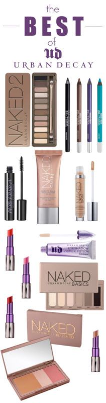 The Best of Urban Decay Cosmetics