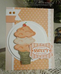 Stampin' & Scrappin' with Stasia 2015-16 Stampin' Up! catalog Sprinkles of Life, Triple Banner Punch, Tree Builder Punch