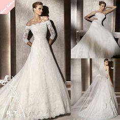 Newest_timeless_long_sleeve_lace_wedding_dress.jpg (800×800)