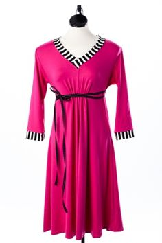 Fru Pink - Hauzfrau Kjole www.hauzfrau.dk