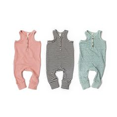 Our new tank rompers  In all honesty, the fit has been perfect on every kid…