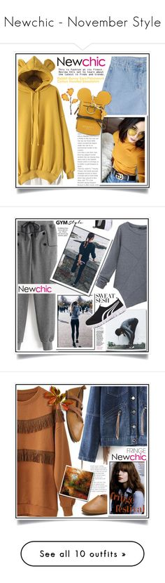 """""""Newchic - November Style"""" by ewa-naukowicz-wojcik ❤ liked on Polyvore featuring plus size clothing, O-Newe, interior, interiors, interior design, home, home decor, interior decorating, Green Girls and Pretty Green"""
