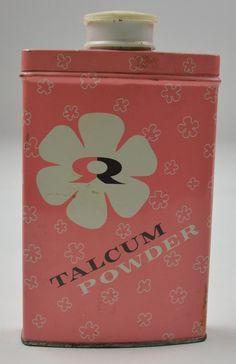 Vintage Rawleigh's talc tin