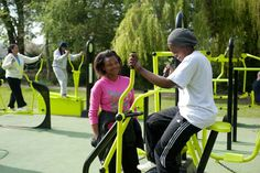 Cool outdoor gym - The Great Outdoor Gym Company
