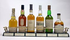 Glenkinchie-10 year old  Lagavulin-16 year old  Oban-14 year old  Cragganmore-12 year old  Talisker-10 year old  Dalwhinnie-15 year old