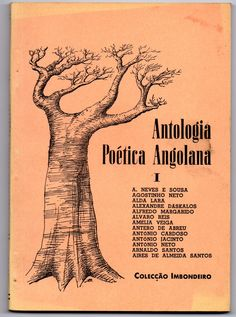 Antologia Poética onde participa Alda Lara publicada pela Imbondeiro
