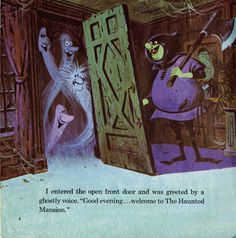 Walt Disney Presents The Haunted Mansion ©1970 - pg 4