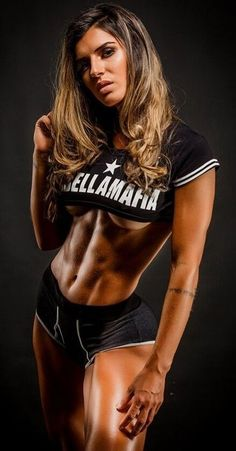 #20 Great Abs - Only Ripped Girls