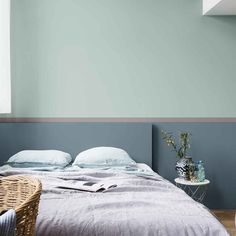 blue green wall Dulux Valentine Source by dominiquevivien