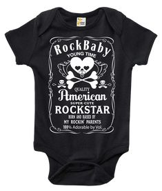 The Rock n Roll Baby Bodysuit That Wins The Hearts of All. Out with the boring bodysuit! Rapunzie onesies feature witty and charming sayings and illustrations to bring out the fun in your baby's wardr