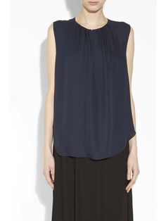 L'Agence	Top	Shirred Blouse