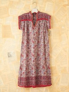 Vintage Paisley Tunic Dress.. Cute w/ some boots!