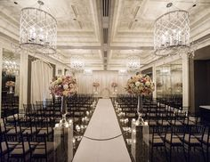 Set the Mood With Lighting  Even if your ceremony isn't in the evening, you can still use candles and creative lighting to brighten your ceremony. Chandeliers, votives, colorful paper lanterns or even strung bistro lights can add a romantic touch.
