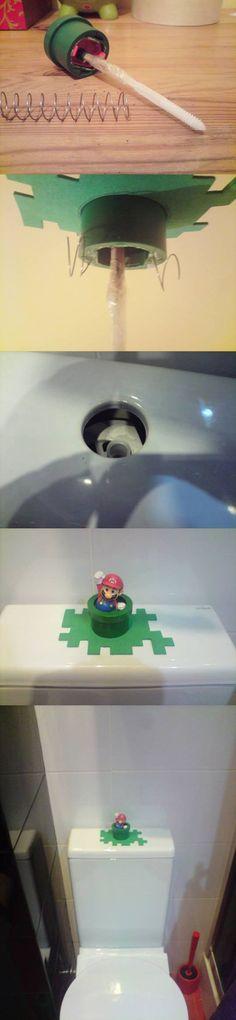 DIY : La chasse d'eau Super Mario