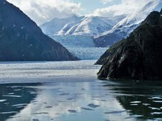 Tracy Arm Fjord views from Rhapsody of the Seas. #alaska