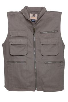 HUMVEE Cotton Ranger Vest with Hideaway Hood *** You can find out more details at the link of the image.